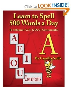 Learn to Spell The Vowel A