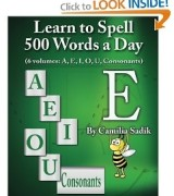 Vowel E in a Book