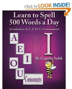 Learn to Spell The Vowel I