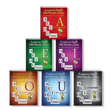 Books of English Vowels