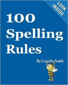 Spelling Rules Book