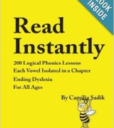 Reading and Spelling Book for 7th Grade