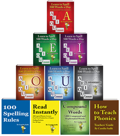 Comprehensive Phonics and Spelling Books