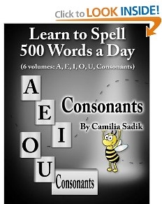 Book for 5th Grade to Learn to Spell Consonants