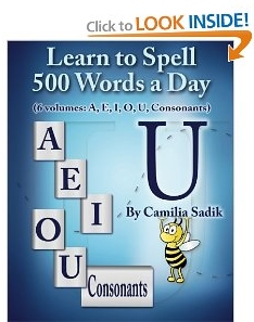 Learn to Spell The Vowel U