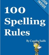 Spelling Rules Book for Adults