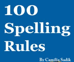 Spelling Rules to Learn to Spell
